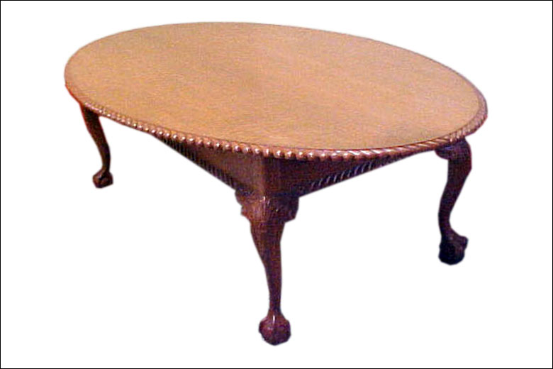 Ball Claw Oval Dining Table