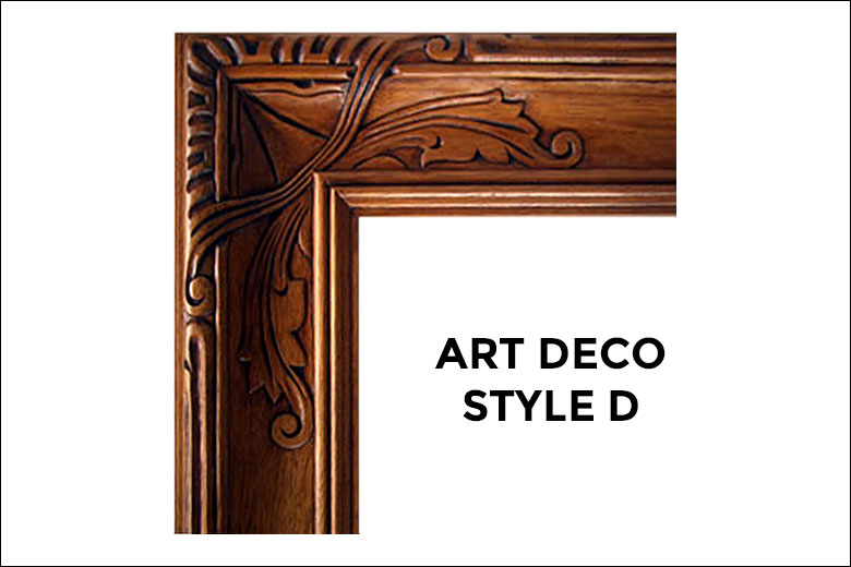Art Deco Frames | | Liberty Carvings