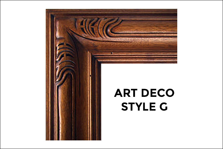 Art Deco Frames Liberty Carvings