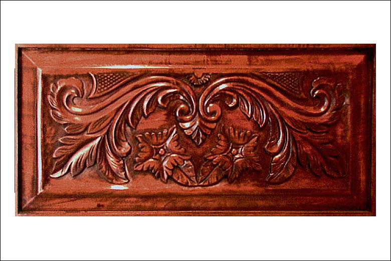 Volute morning glory door liberty carvings