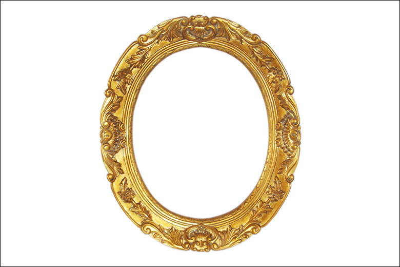 Rococo Frames Liberty Carvings